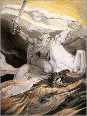 Gallery print  Death on a Pale Horse - William Blake