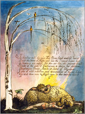 Gallery print  America a Prophecy - William Blake