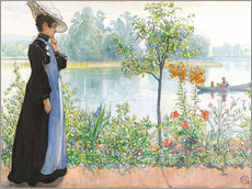 Gallery print  Karin by the shore - Carl Larsson