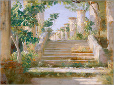 Wall sticker  Loggia in Ravello - Peder Severin Krøyer