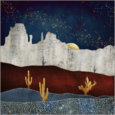 Wall sticker Moonlight desert