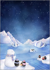 Wall Stickers  Stars of the Antarctic - Rebecca Richards