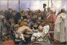 Gallery print  Reply of the Zaporozhian Cossacks - Ilya Efimovich Repin