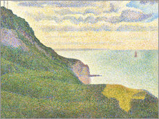 Wall sticker  Seascape at Port-en-Bessin - Georges Seurat