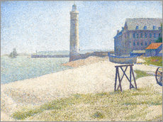 Wall sticker  Lighthouse in Honfleur - Georges Seurat