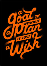 Wall sticker  a goal - Durro Art