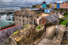 Gallery print  Down To Tenby Harbour - Simon West