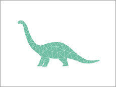 Wall Stickers  Diplodocus - Nouveau Prints