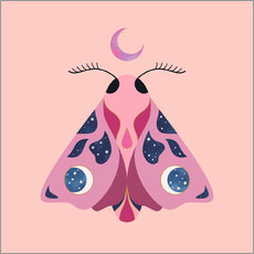 Wall sticker Luna Moth