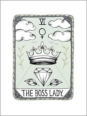 Gallery print  The Boss Lady - Barlena