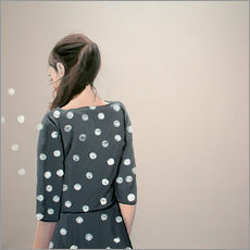 Wall sticker  White dots - Karoline Kroiss