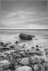 Gallery print  Granite in the Baltic Sea (long exposure) - Heiko Mundel