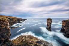 Wall sticker  Yesnaby Cliffs on Orkney Islands - Reemt Peters-Hein