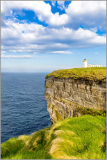 Wall Sticker  Duncansby Head Lighthouse at John o Groats - Reemt Peters-Hein