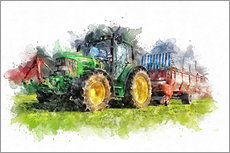 Gallery print   tractor  - Peter Roder