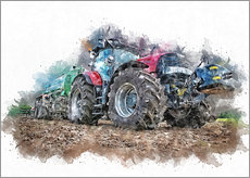Wall Stickers   tractor  - Peter Roder