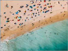 Gallery print  Vacationers on the beach in Lagos, Portugal - Radu Bercan