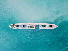 Gallery print  Shipwreck In The Middle Of The Ocean - Radu Bercan