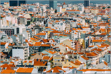 Radu Bercan - Lisbon City Rooftops In Portugal