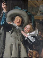 Gallery print  Young Man and Woman in an Inn - Frans Hals