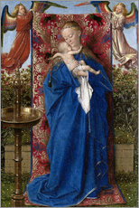 Wall sticker  Madonna with child at the well - Jan van Eyck