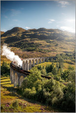 Gallery print  Glenfinnan viaduct in Scotland - Sören Bartosch