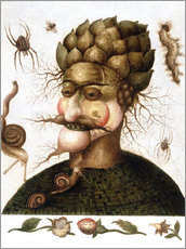 Wall sticker  The Allegory of Earth - Giuseppe Arcimboldo