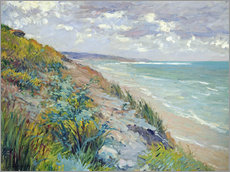 Wall sticker  Cliffs by the sea at Trouville - Gustave Caillebotte