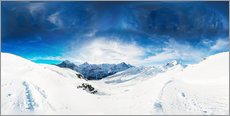 Gallery print  Grindelwald in winter - Peter Wey