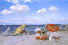 Wall Stickers  At the beach - William Merritt Chase