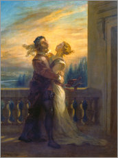 Wall Sticker  Romeo and Juliet - Eugene Delacroix