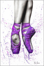 Poster  On tiptoe - Ashvin Harrison