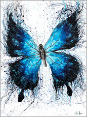 Premium poster The Butterfly Tattoo