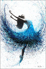 Premium poster  Dance in the ocean mist - Ashvin Harrison
