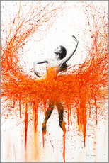 Premium poster  Dancing With Fire - Ashvin Harrison