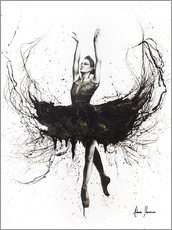 Canvas print  The black swan - Ashvin Harrison