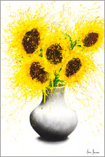 Acrylic print  Sunflower Song - Ashvin Harrison