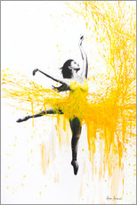 Premium poster Sunflower Dance