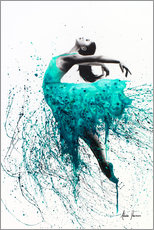 Premium poster Kingfisher dance
