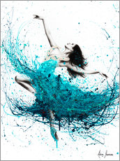 Gallery print  Ballerina Waves - Ashvin Harrison