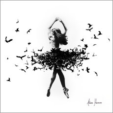 Wall sticker  Free Bird Dance - Ashvin Harrison