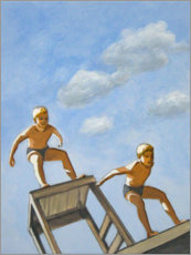 Sarah Morrissette - Two diving boys