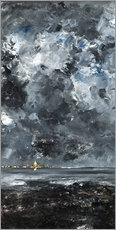 Canvas print  The town - August Johan Strindberg