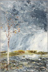 Acrylic print  The Birch Tree I (Autumn) - August Johan Strindberg