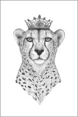 Canvas print  Queen Cheetah - Valeriya Korenkova