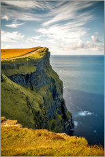 Premium poster Cliffs of Moher in Ireland