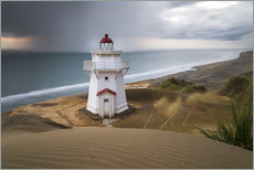 Foam board print  Lighthouse - New Zealand - North Island - Markus Kapferer