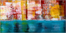 Canvas  NewYork Skyline abstract - Gerhard Kraus