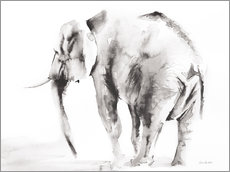 Wall Stickers  Lone Elephant