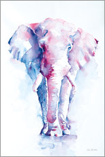 Canvas print  An Elephant Never Forgets